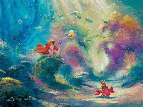 ariel painting lilo and stitch disney painting winnie the pooh mickey