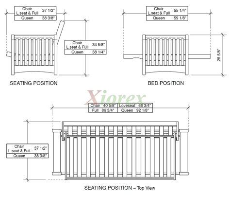 Standard Futon Length by Standard Futon Length Bm Furnititure