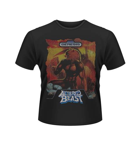 T Shirt Beast Yoseob sega altered beast s t shirt official somethinggeeky
