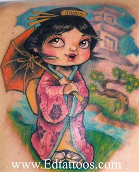 kimono tattoo girl large image leave comment