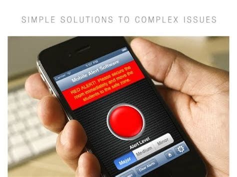 alerts on mobile school emergency alert system mobile alert software