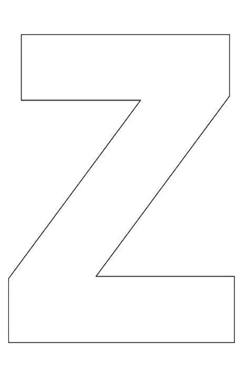 best photos of letter z template alphabet letter z