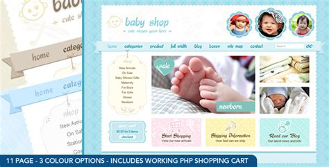 Cute Sweet 3 Color Html Php Shopping Cart By Dtbaker Themeforest Php Shopping Cart Template