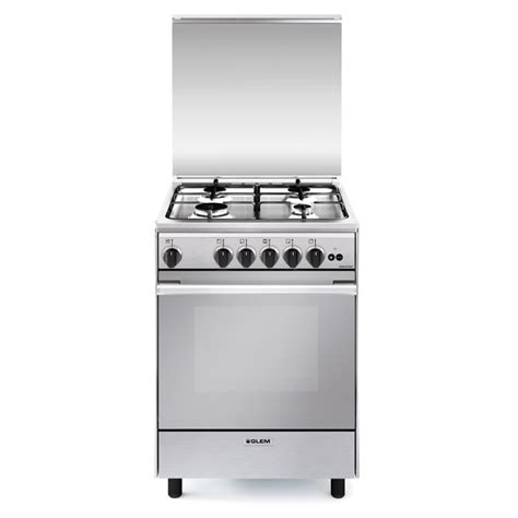 List Oven Gas un6611gi gas oven with gas grill cooking products glem gas
