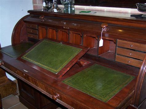 mahogany desk for sale english mahogany cylinder desk circa 1875 for sale