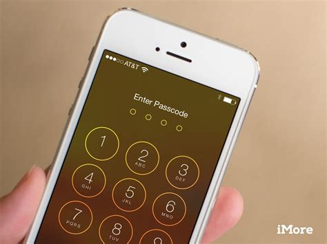 how to unlock iphone 5s with passcode how to turn touch id and revert to a passcode or password imore