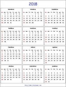 Finland Calendã 2018 2018 Calendar Printable Calendar 2018 Calendar In