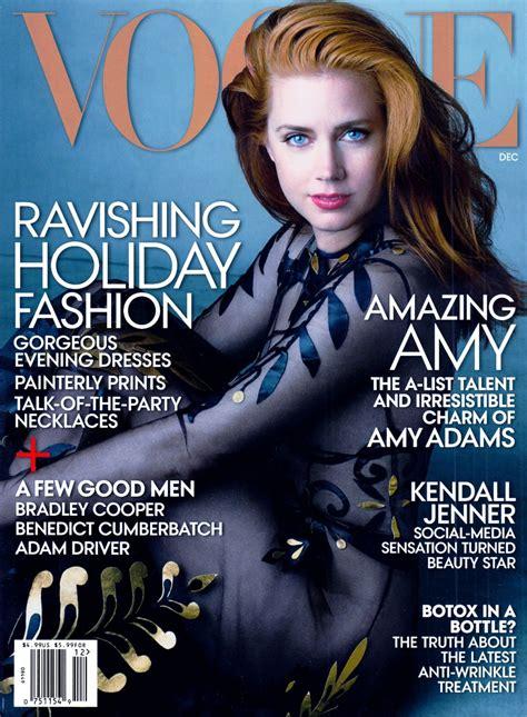 magazine usa amy adams vogue magazine cover usa december 2014