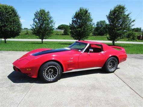 1975 Corvette Coupe 350 Auto Great Driver Classic Chevrolet Corvette 1975 For Sale 1975 Corvette Coupe Custom