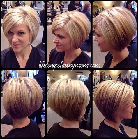 asymetrical ans stacked hairstyles 2268 best images about short bob haircuts on pinterest