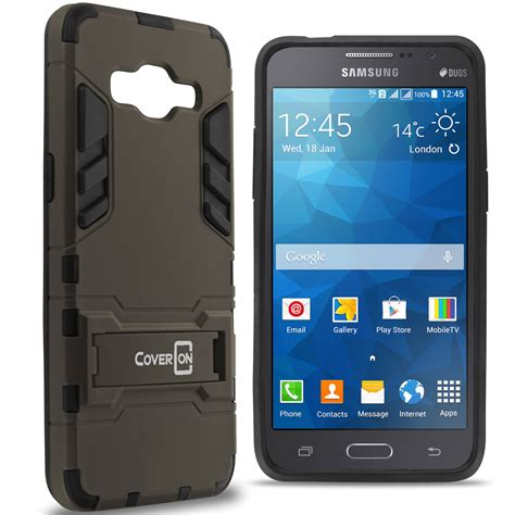 Samsung Galaxy J2 Soft Armor Kick Stand Cover Iron Casing for samsung galaxy grand prime armor slim