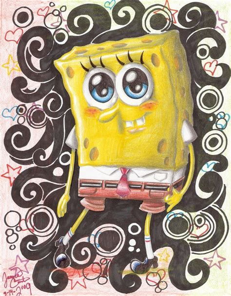 wallpaper spongebob biru teenager celebrity pictures cute face