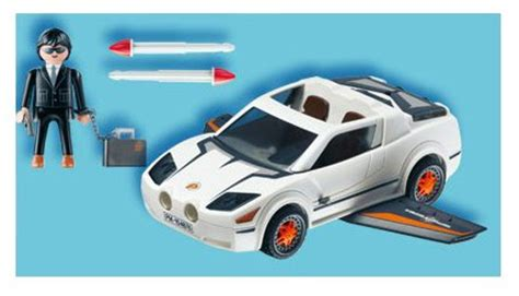 Playmobil Agenten Auto by Playmobil Secret Agent Super Racer