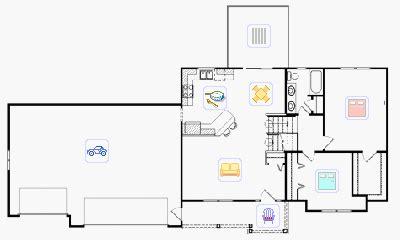 Tri Level Floor Plans by Tri Level House Plans