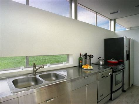 rocio romero prefab kitchen love the long narrow window