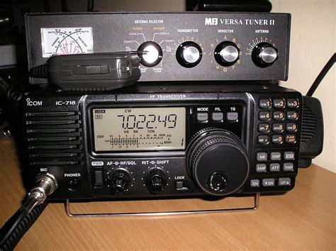 Radio Ssb Icom Icom 718 Garansi 1 Thn recenze icom ic 718 dsp ok2zdl radio station
