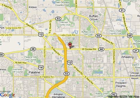 Marriott Suites Garden Grove by Map Of La Quinta Inn Arlington Height Arlington Heights