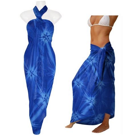 tie dye sarong quot blue starry sky quot