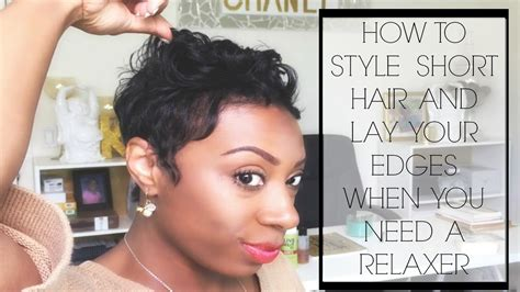 short hair cut with no relaxer short hair problems how to style your hair lay your