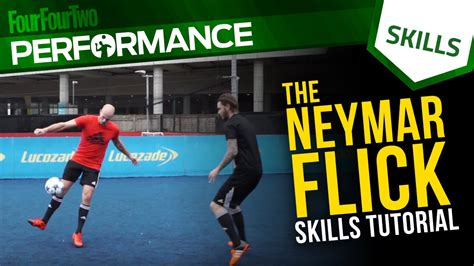 skill football freestyle tutorial neymar flick skill tutorial with dc freestyle football