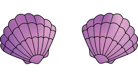Mermaid Shell mermaid shell bra t shirt by emilypaige design by humans