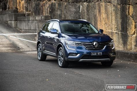 renault koleos 2017 red 2017 renault koleos intens 4x4 review video