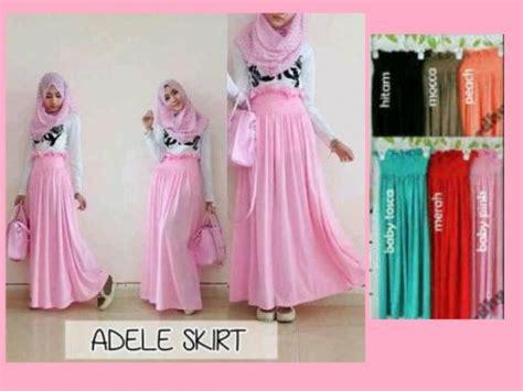 Rok Umbrella Bloomy Skirt bawahan muslim dilla collection