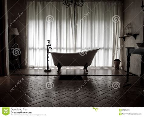 vintage style bathtub stock photo image 61975844
