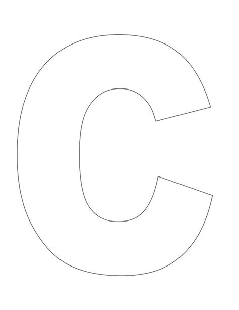 large letter c template best 25 letter c crafts ideas only on letter c activities letter crafts and letter c