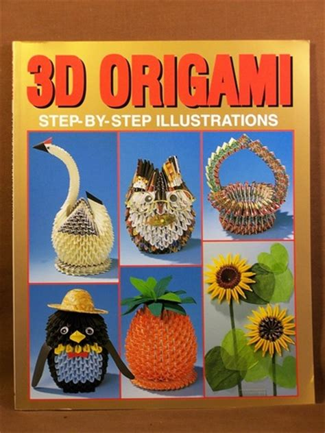 3d Origami Step By Step Illustrations - how to make 3d origami pieces car interior design