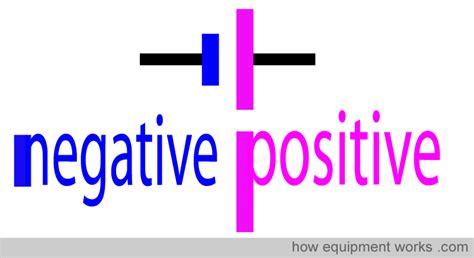 battery diagram positive negative awesome battery symbol positive negative images
