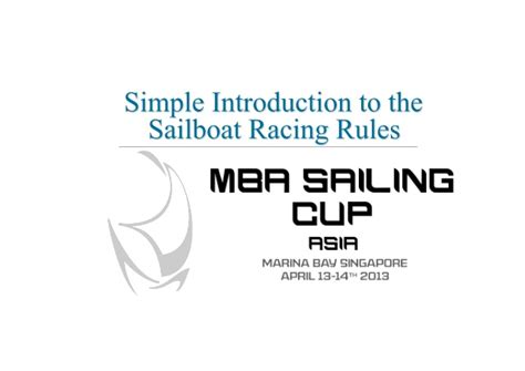 Mba Essentials Slide Rule by Mba Sailboat Racing Guide