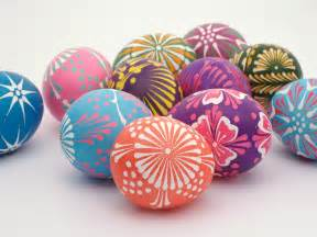 check these out they re polish easter eggs perhaps wycinanki eggs