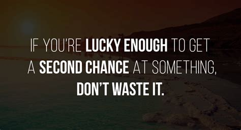 A Lucky Second Chance gallery getting a second chance relationship
