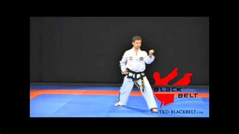 yul gok pattern youtube yul gok by jaroslaw suska www tkd blackbelt com youtube