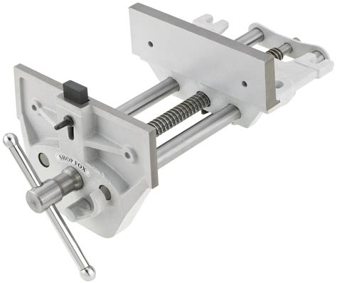 quick release bench vise shop fox quick release vise