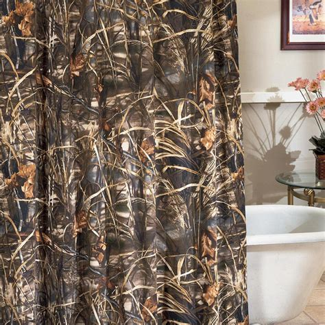 realtree camo shower curtain max 4 hd camo comforter ez bedding sets cabin place