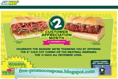 printable subway coupons printable coupons 2017 subway coupons