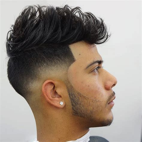 long hair witj side fade 25 cool haircuts for men
