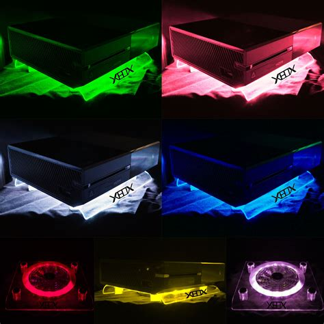 xbox one led fan rgb led usb design cooler fan stand xbox one s 360