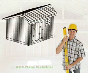 saltbox storage shed  barn plans simple step