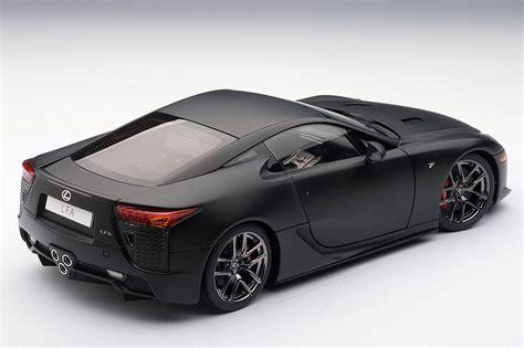 lfa lexus black matte black lexus lfa die cast model by autoart lexus