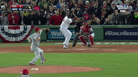 david ortiz does it again homers to put boston up 2 1 in