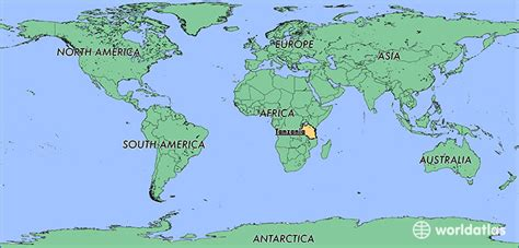 tanzania on the world map where is tanzania where is tanzania located in the