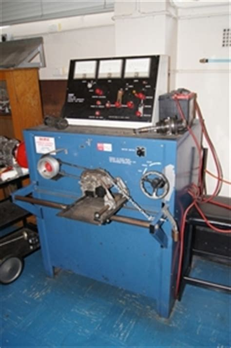 bench testing a starter motor alternator generator starter test bench durst model 800