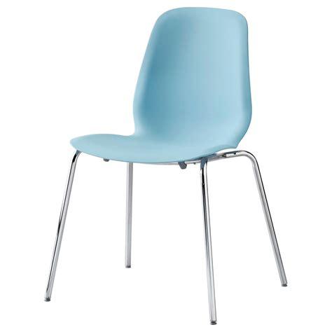 ikea plastic chair leifarne chair light blue broringe chrome plated ikea