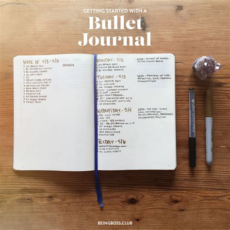 bullet journal tips how to get started with a bullet journal bullet journal tips for creative business owners from