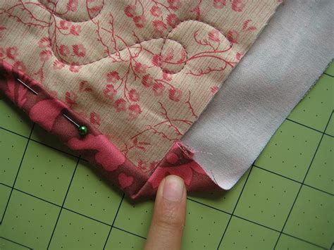 How To Bind A Quilt Corner by Quilt Binding Quilting In The