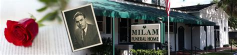 about us milam funeral home crematorium