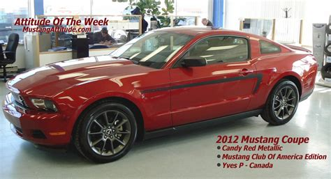 2012 mustang club of america edition